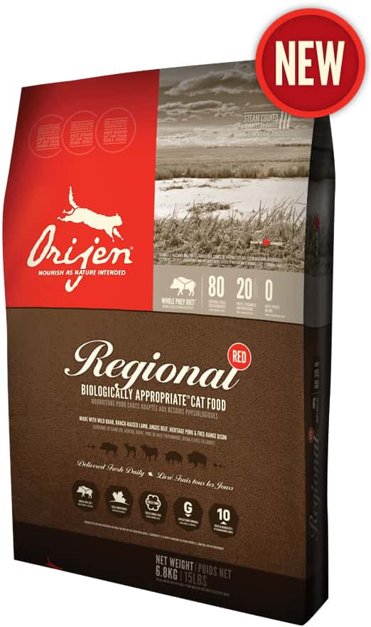 Orijen Regional Red CAT 1.8kg