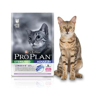 PRO PLAN Adult 7+ Sterilised mit Truthahn 400g