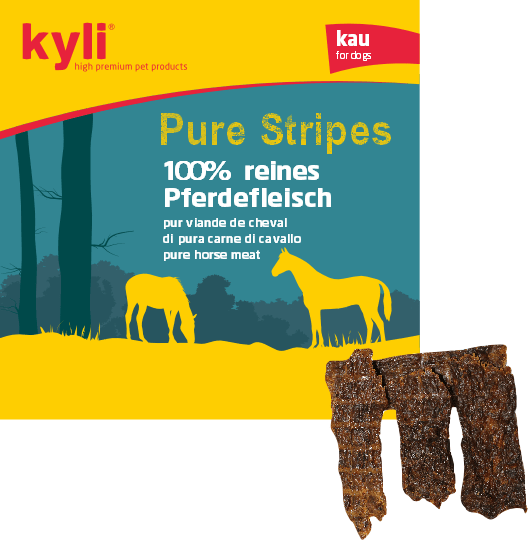 Pure Stripes Pferd (150 g) Leckerlis
