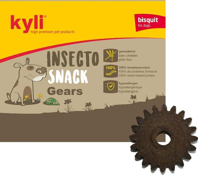 Insecto Snack Gears (10 Stk.) Leckerlis