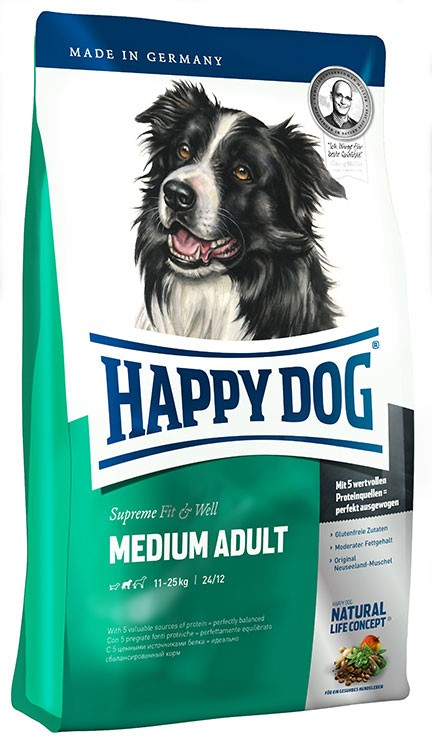 Medium Adult - Happydog 4kg
