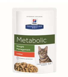 Prescription Diet Metabolic Feline Frischbeutel (12 X 85 G)
