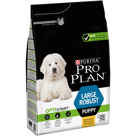 Large Robust Puppy Optistart - Reich an Huhn 3kg