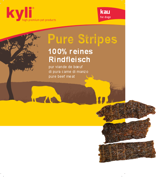 Pure Stripes Rindfleisch (150g) Leckerlis