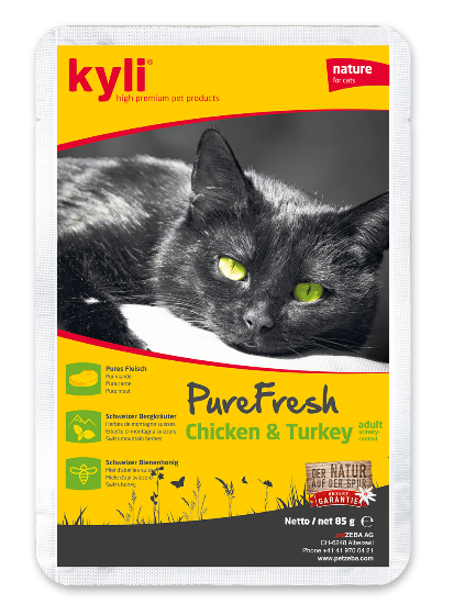 Chicken & Truthahn adult PureFresh (12 x 85 g)